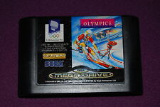 WINTER OLYMPICS LILLEHAMMER '94 - Tiertex/U.S. Gold - Jeu Sports Mega Drive PAL