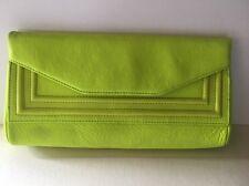 POSSE NY Mint Green Envelope Clutch