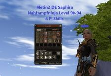 Metin2 DE Saphira | Nahkampfninja | Level 90-94 | 4 P-Skills