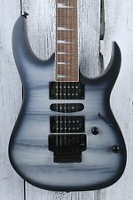 Ibanez RG470DX Solid Body Electric Guitar Meranti Body Black Planet Matte Finish