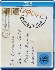 Zodiac - Die Spur des Killers - Director`s Cut, Blue Ray, BD-Disk