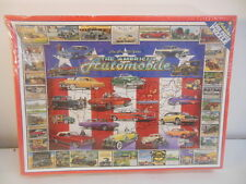 The American Automobile 100 Pc Puzzle Sealed Box White Mountain Puzzles 1997