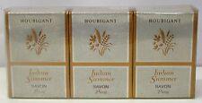*Houbigant - Indian Summer Soap Seife Savon 3x 78g Neu & OVP* **Vintage**