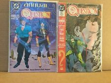 The Question Annual #1-2