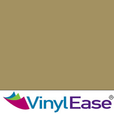 One 12 in x 40 ft Roll Glossy Gold Permanent Craft and Sign Vinyl V0434