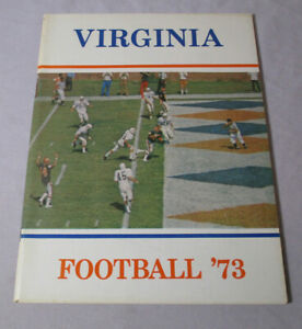 1973 VIRGINIA FOOTBALL Media Guide Press Book CAVALIERS 82 Pages PHOTOS & INFO.