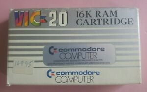 RARE Commodore VIC 20 16K VIC 1111 cartridge MIB! - UNUSED! NOS