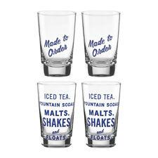 kate spade new york All in Good Taste™ Order's Up Glass Tumblers - Set of 4 NIB