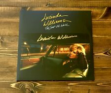 LUCINDA WILLIAMS THIS SWEET OLD WORLD 2-LP SET SIGNED REISSUE RERECORDED CLASSIC