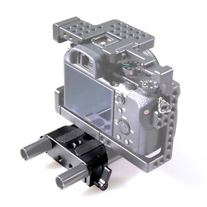 SmallRig Camera Baseplate W/ 15mm Railblock Fr DSLR 15mm Rod Rail Support System