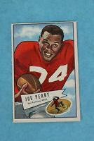 1952 BOWMAN #83 JOE PERRY SAN FRANCISCO 49ers LARGE FOOTBALL TRADING CARD