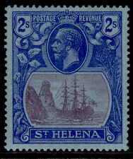 More details for st. helena gv sg108, 2s purple & blue/blue, nh mint. cat £26.