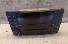 MERCEDES CLASSE E Lettore Cd Unità Stereo A2118209889 W211 MF2311 2003