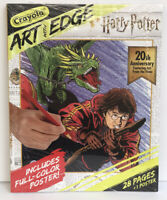 New Crayola Art With Edge Harry Potter 20th Anniversary + Poster Coloring Book