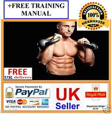 2 DVD Set Learn Kettlebell Training Fitness Workout Guide + Free pdf Manual