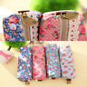 Fashion Cute  Floral Lace Pencil Pen Case Cosmetic Makeup Bag Zipper Pouch