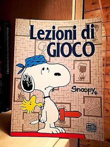 Charles M.Schulz - LEZIONI di GIOCO - Ed.Mondadori 1988
