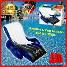 Inflatable Pool Chair Water Raft Float Large Sea Beech Recliner Sun Lounger Lake