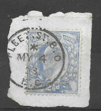 posted 4th May 1903 - Edward VII - gb 2 1/2d blue used
