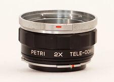 Petri Tele Konverter 2x to fit Petri