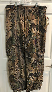 NEW Old Stock Mens Woolrich Advantage 1501 Camo Hunting Pants XXL Zipper Bottoms