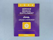 Service Manual Supplement, 1996 Jeep Grand Cherokee (ZJ), 81-370-6147A