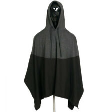 M/L/XL/2XL/3XL/4XL/5XL Size Men Hooded Cloak Cape Long Cool Poncho Jacket Coat