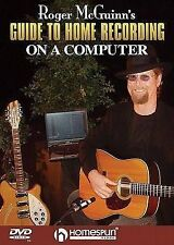 USED (GD) Roger McGuinn's Guide To Home Recording on a Computer (2004) (DVD)