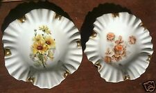1950s Mitterteich Bavaria Candy Dishes~1 Norway Rose & 1 Black Eye Susan~Germany