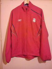 Liverpool FOOTBALL CLUB Rojo Track Top Talla M Reebok Oficial merchandisde en muy buena condición