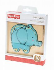 Fisher Price Wooden elephant puzzle