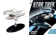 Eaglemoss Diecast Star Trek st0036 Oberth Class STARSHIP & MAGAZINE #36