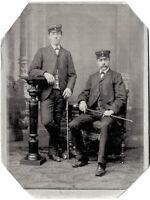 Bergmänner, Obersteiger?, Original-Photo um 1890
