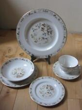 ROYAL DOULTON MANDALAY 6 PC PLACE SETTING WITH COUPE SOUP BOWL
