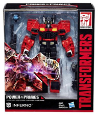 HASBRO TRANSFORMERS GENERATIONS POWER OF THE PRIMES VOYAGER INFERNO FIGURE