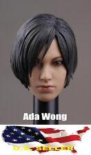 IN STOCK 1/6 Ada Wong head for Resident Evil hot toys phicen kumik body USA