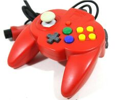 Nintendo 64 Hori Pad Mini Controller Solid Red N64 Tested Excellent Japanj060701
