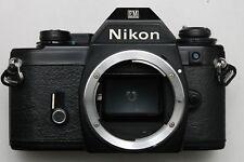 NIKON EM 35MM SLR BODY - NEW LIGHT SEALS AND WORKING (3)