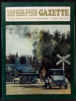 Narrow Gauge And Short Line Gazette Train Model Magazine November December 1990