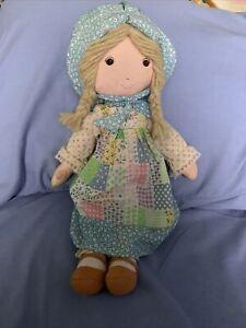 Vintage Original Holly Hobbie 15 Inch Doll By Knickerbocker