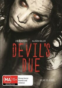 Devil's Due (2014) DVD Zach Gilford Allison Miller Region 4 PAL Brand New Sealed