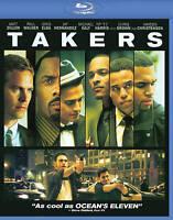 Takers [Blu-ray] Matt Dillon Paul Walker Hayden Christensen Chris Brown