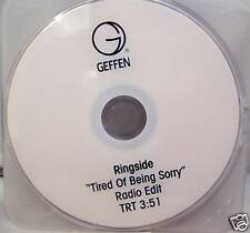 Ringside - TIRED OF BEING SORRY - DVD Single - RARE