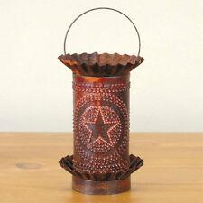 Star Tartwarmer Electric Rustic Metal Tart Warmer Handcrafted wax Country Tin