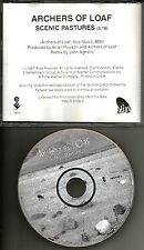 ARCHERS OF LOAF Scenic pastures 1997 USA PROMO Radio DJ CD Single MINT PRCD9766