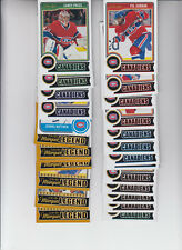 14/15 OPC Montreal Canadiens Team Set w/RCs and Legends - Price Roy +