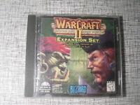 Warcraft II Beyond the Dark Portal Game Expansion Set PC CDROM DOS / Win / Mac