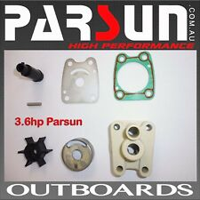 3.6hp Parsun Outboard Water Pump Impellor Kit 4-5hp Yamaha FREE POST #T3.6BMSWPK