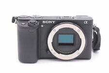 Sony Alpha a6300 24.2MP Digital SLR Camera - Black (Body Only)