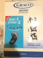 NEW - Graco Uno2Duo Stroller Second Seat, Add on - ACE Color - Free Ship